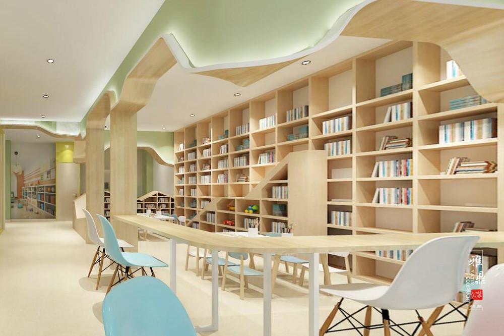 魔力格托管培训学校装修设计效果图阅览区