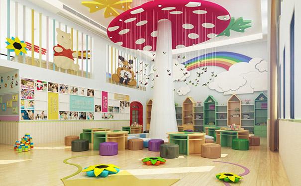 成都幼儿园装修设计 如何把设计与自然风相结合来设计